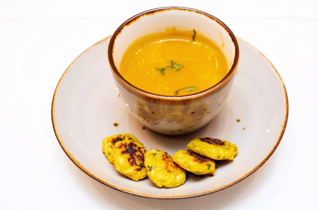 Caramalised Carrot and Coconut Soup