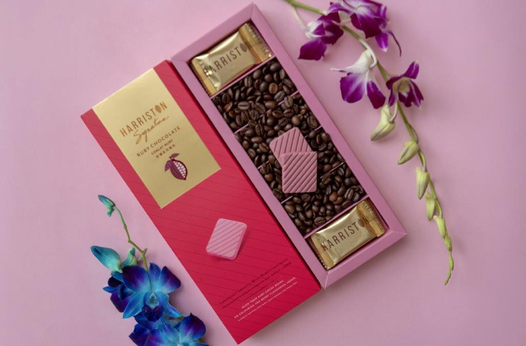 Harriston Signature Ruby Chocolate Thins