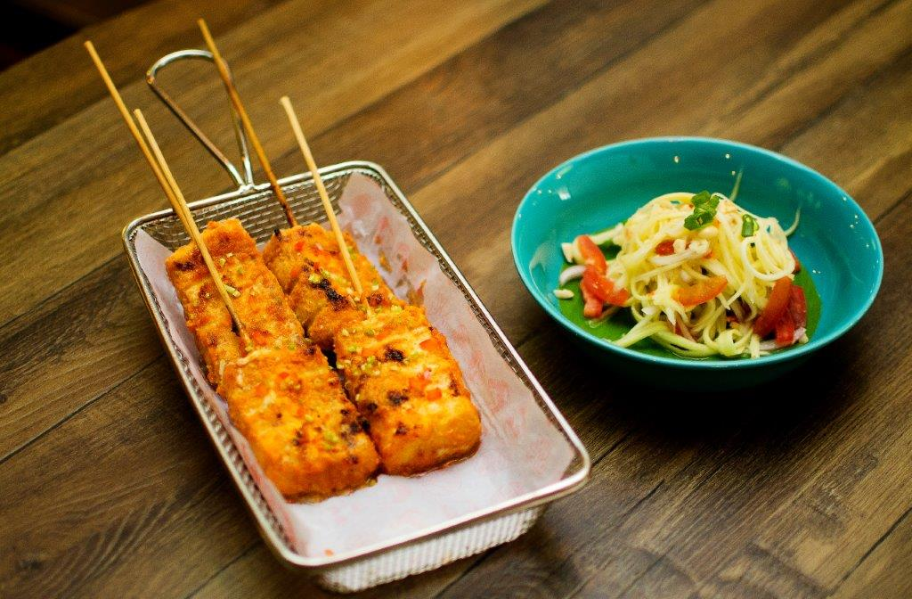 Spicy Grilled Fish Satay