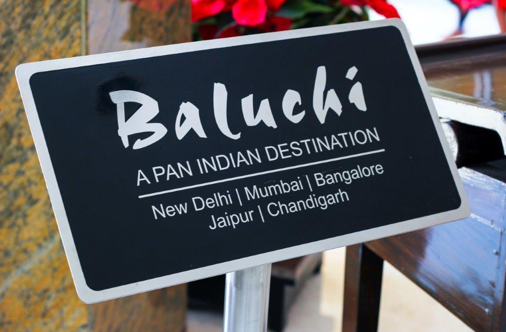 Baluchi, The Lalit Ashok Bangalore
