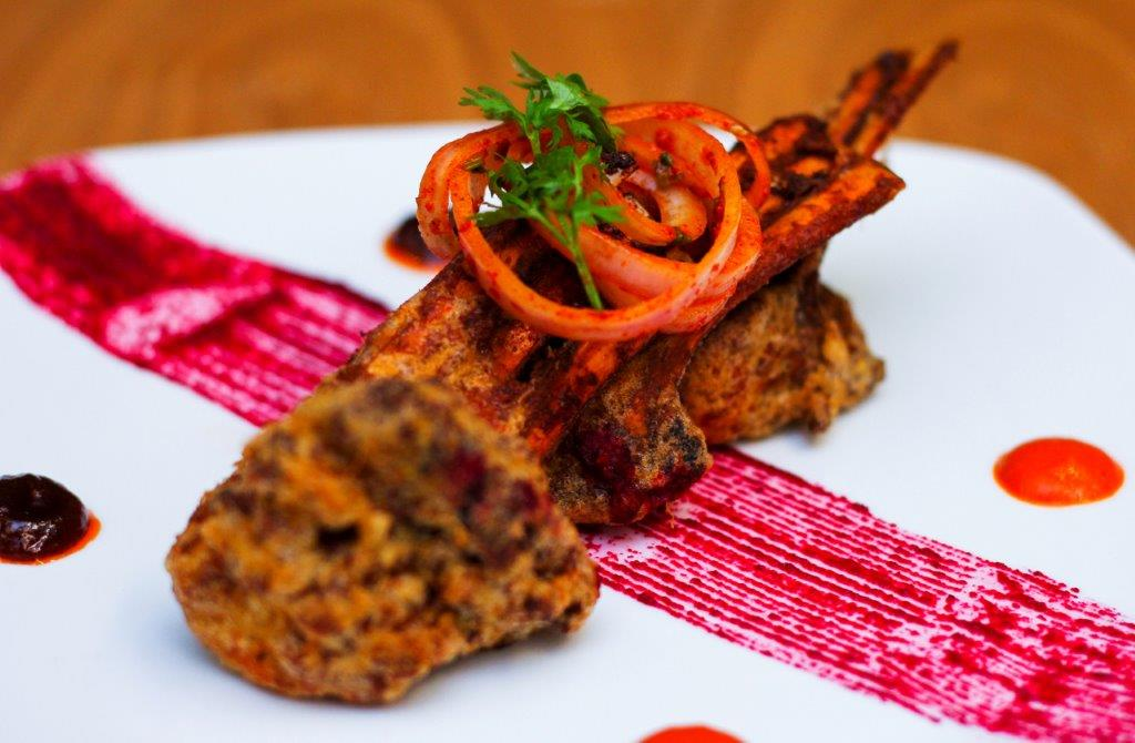 Battered Fried Lamb Chops