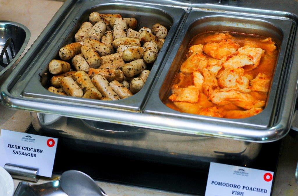 Grilled Chicken Sausage