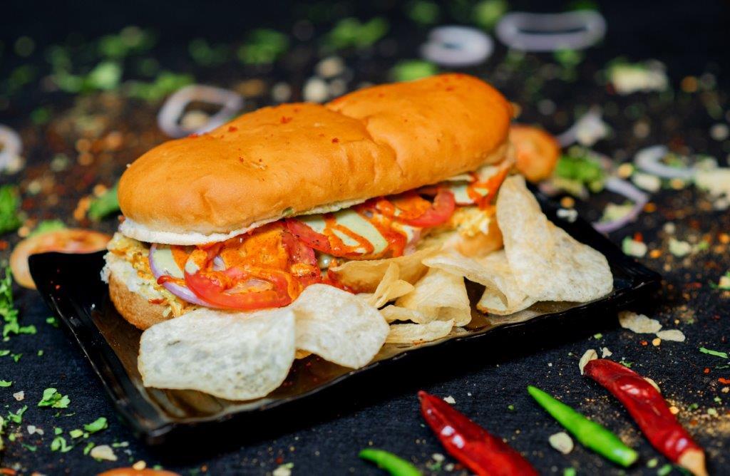 Chicken Kebab Sub Sandwich