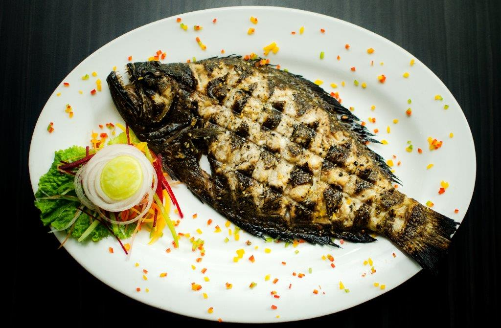 Pepper Grilled Sole Fish