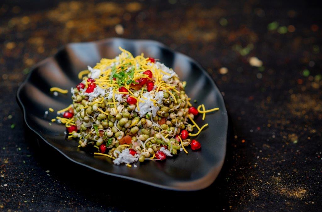 Sprouted Moong Dal Salad