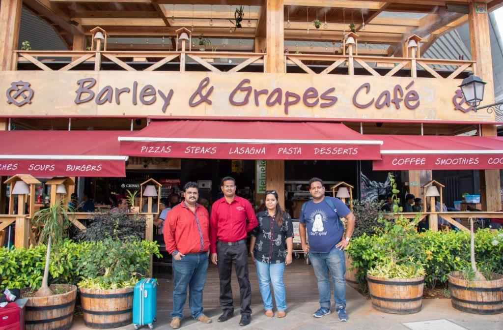 Barley & Grapes Cafe, Bangalore Airport