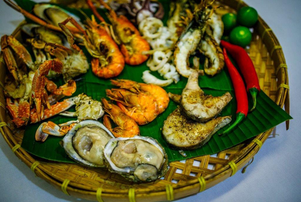 Grand Sea Food Buffet Dinner - Mixed Seafood Starter