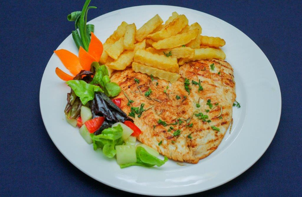 Chicken Steak with Brandy Sauce