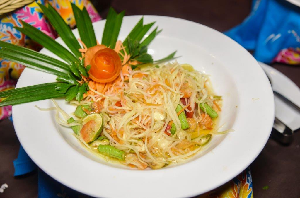 Thai Glass Noodle Salad, Ao Nang Cliff Beach Resort