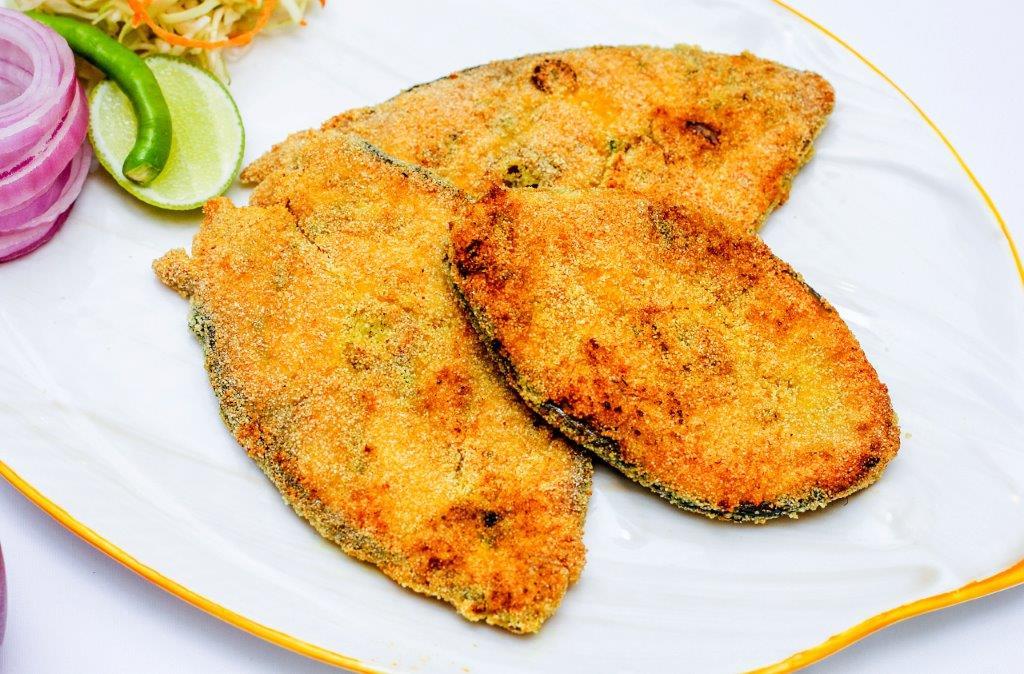 Pan-fried Rawa King Fish