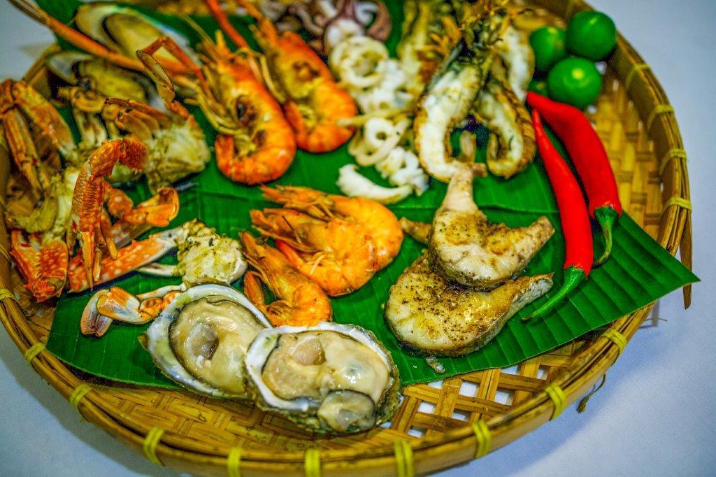 Grand Sea Food Buffet Dinner - Mixed Seafood Starter